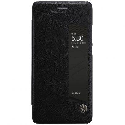 Huawei P10 Suojakotelo Nillkin Qin Musta