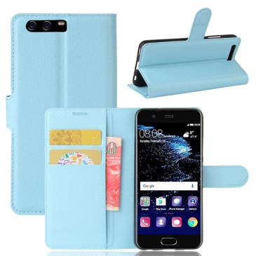 Huawei P10 Suojakotelo Sininen Lompakko