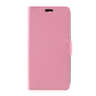 LG K4 (2017) Lompakko Suojakotelo Vaaleanpunainen