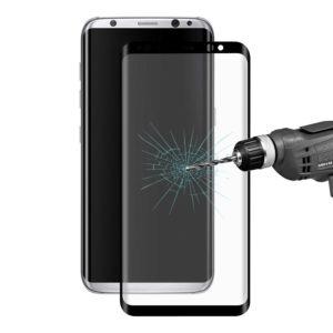 Samsung Galaxy S8 Kaareutuva Suojalasi Musta