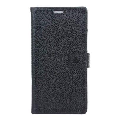 Samsung Galaxy S8 Nahkakotelo Musta