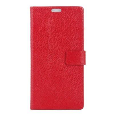 Samsung Galaxy S8 Nahkakotelo Punainen