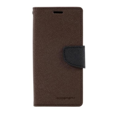 Samsung Galaxy S8 Suojakotelo Fancy Ruskea