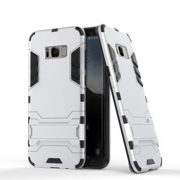 Samsung Galaxy S8 Suojakuori 2-osainen Hopea