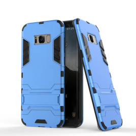 Samsung Galaxy S8 Suojakuori 2-osainen Sininen