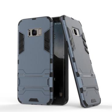 Samsung Galaxy S8 Suojakuori 2-osainen Tummansininen