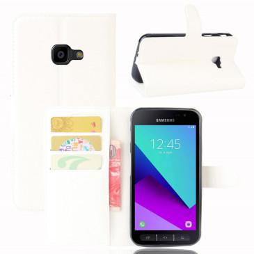 Samsung Galaxy Xcover 4 Lompakkokotelo Valkoinen