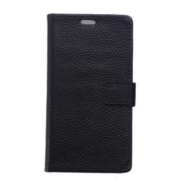 Samsung Galaxy Xcover 4 Nahkakotelo Musta