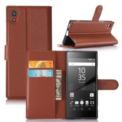 Sony Xperia XA1 Suojakotelo Ruskea