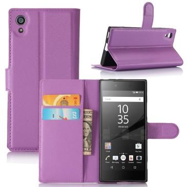 Sony Xperia XA1 Suojakotelo Violetti