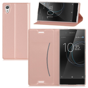 Sony Xperia XA1 Suojakuori Ruusukulta
