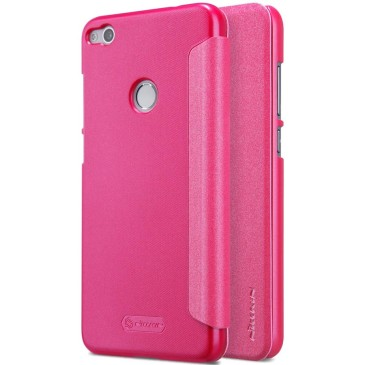 Huawei Honor 8 Lite Kotelo Nillkin Sparkle Pinkki