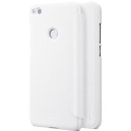 Huawei Honor 8 Lite Kotelo Nillkin Sparkle Valkoinen