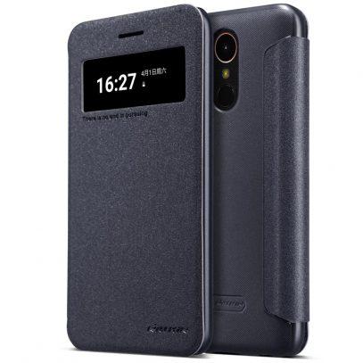 LG K10 (2017) Kotelo Nillkin Sparkle Musta