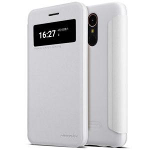LG K10 (2017) Kotelo Nillkin Sparkle Valkoinen