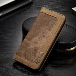 Samsung Galaxy S8 Kotelo Caseme Kangas Ruskea