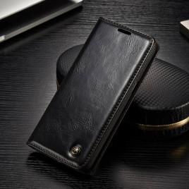 Samsung Galaxy S8 Kotelo Caseme Musta