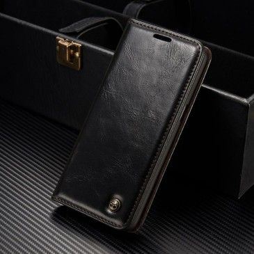 Samsung Galaxy S8+ Kotelo Caseme Musta