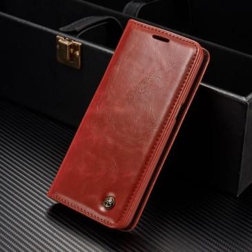 Samsung Galaxy S8+ Kotelo Caseme Punainen