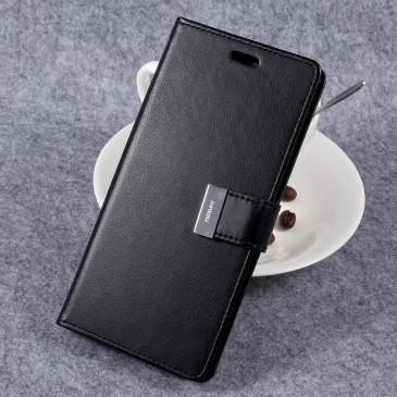 Samsung Galaxy S8+ Kotelo Rich Diary Musta