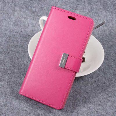 Samsung Galaxy S8+ Kotelo Rich Diary Pinkki
