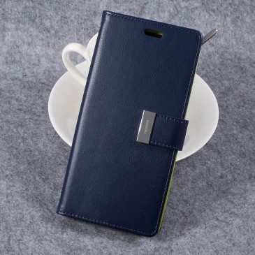 Samsung Galaxy S8+ Kotelo Rich Diary Sininen