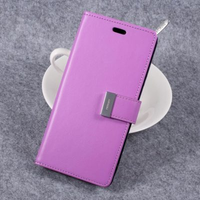 Samsung Galaxy S8+ Kotelo Rich Diary Violetti