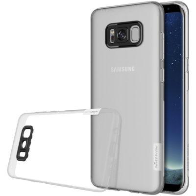 Samsung Galaxy S8+ Suojakuori Nillkin Läpinäkyvä