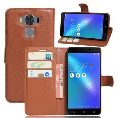 Asus Zenfone 3 Max 5.5″ Lompakkokotelo Ruskea