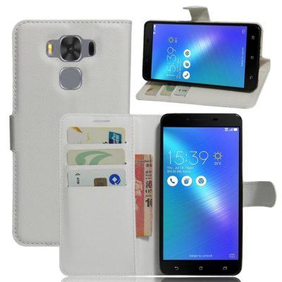 Asus Zenfone 3 Max 5.5″ Lompakkokotelo Valkoinen