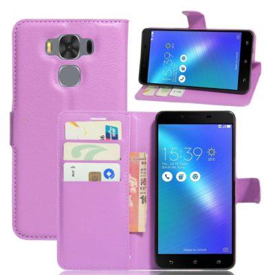 Asus Zenfone 3 Max 5.5″ Lompakkokotelo Violetti