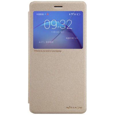 Huawei Honor 6X Kotelo Nillkin Sparkle Kulta
