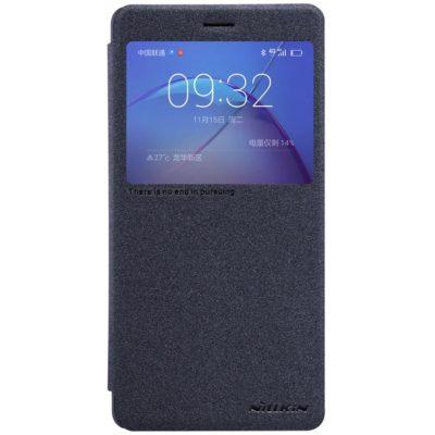 Huawei Honor 6X Kotelo Nillkin Sparkle Musta