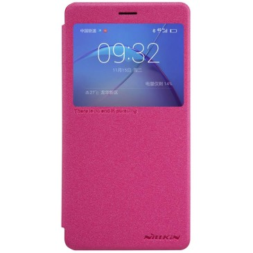 Huawei Honor 6X Kotelo Nillkin Sparkle Pinkki