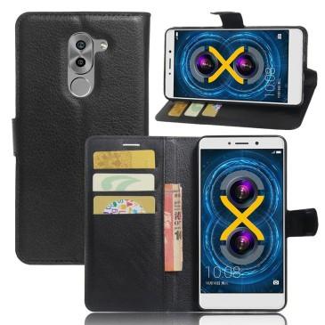 Huawei Honor 6x Lompakkokotelo Musta