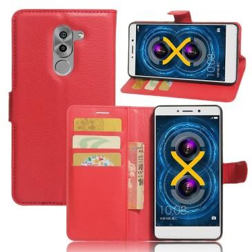 Huawei Honor 6x Lompakkokotelo Punainen
