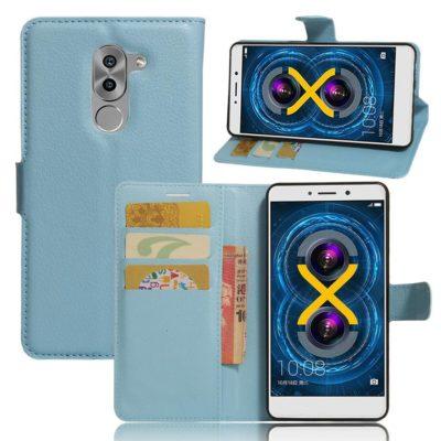 Huawei Honor 6x Lompakkokotelo Sininen