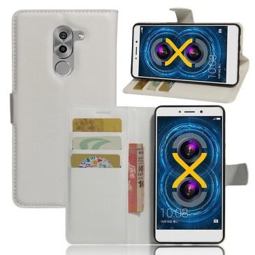 Huawei Honor 6x Lompakkokotelo Valkoinen