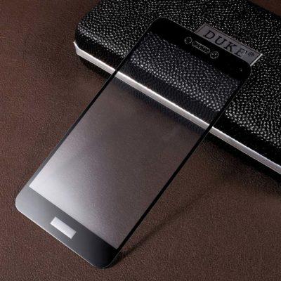 Huawei Honor 8 Lite Täysin Peittävä Suojalasi Musta