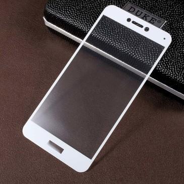 Huawei Honor 8 Lite Täysin Peittävä Suojalasi Valkoinen