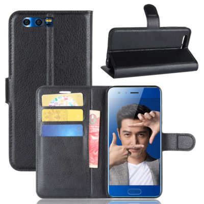 Huawei Honor 9 Kotelo Musta Lompakko