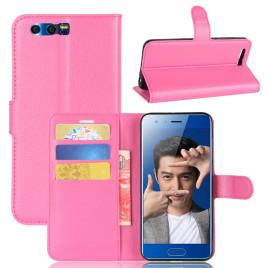 Huawei Honor 9 Kotelo Pinkki Lompakko