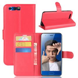 Huawei Honor 9 Kotelo Punainen Lompakko