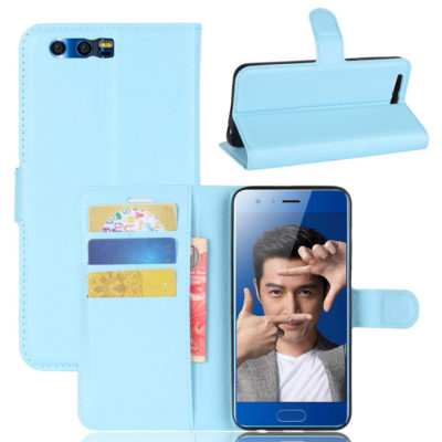 Huawei Honor 9 Kotelo Sininen Lompakko