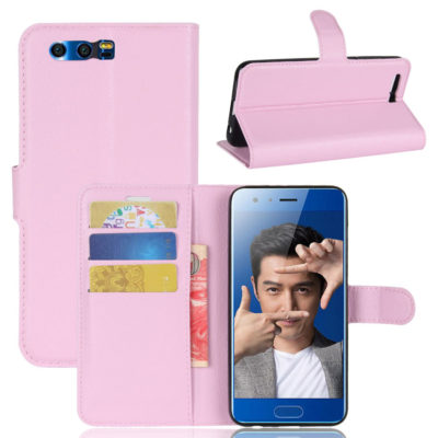 Huawei Honor 9 Kotelo Vaaleanpunainen Lompakko