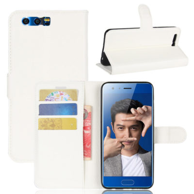 Huawei Honor 9 Kotelo Valkoinen Lompakko
