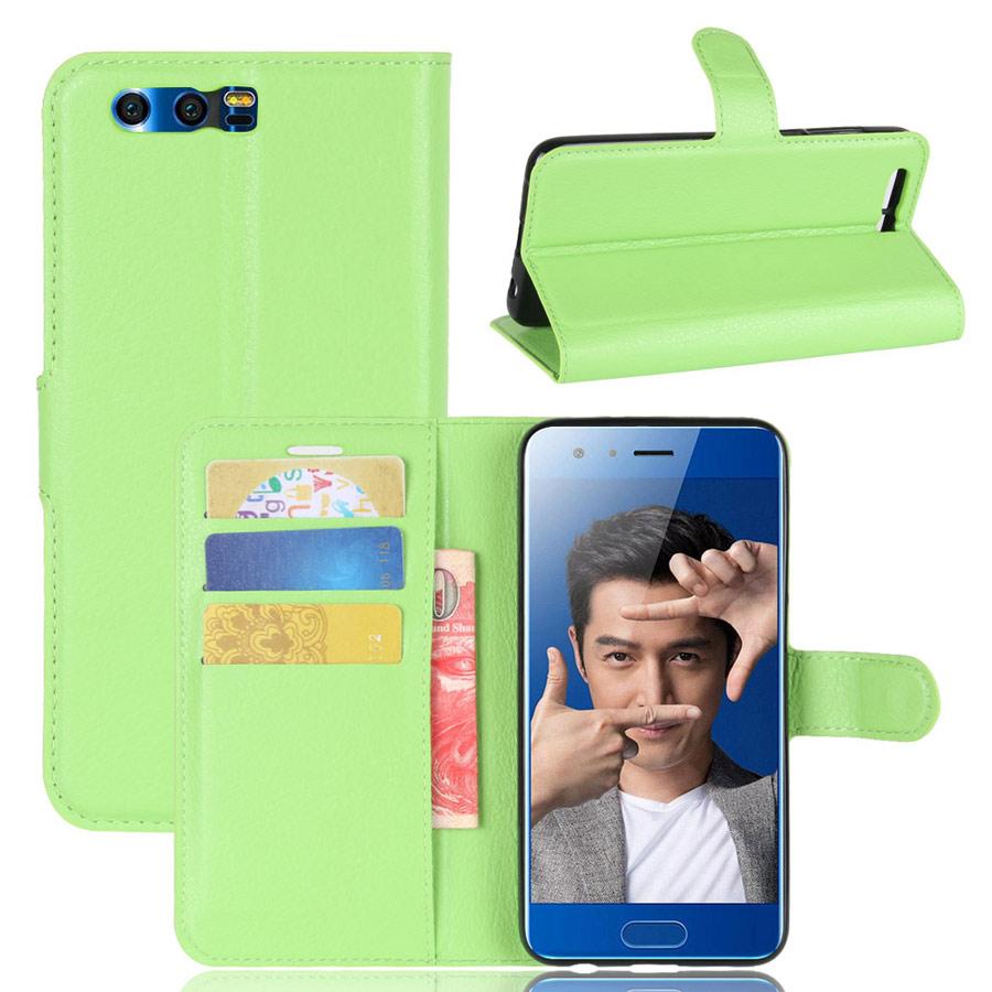 Huawei Honor 9 Kotelo Vihreä Lompakko