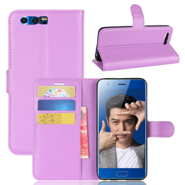Huawei Honor 9 Kotelo Violetti Lompakko