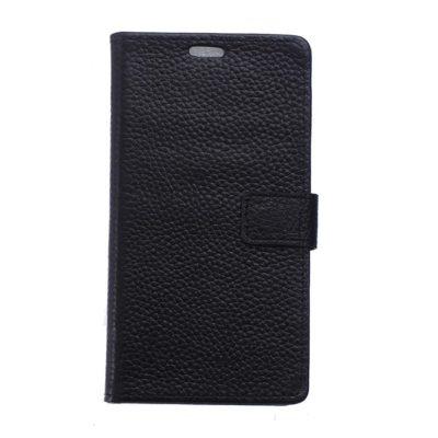 Nokia 5 Lompakkokotelo Nahka Musta