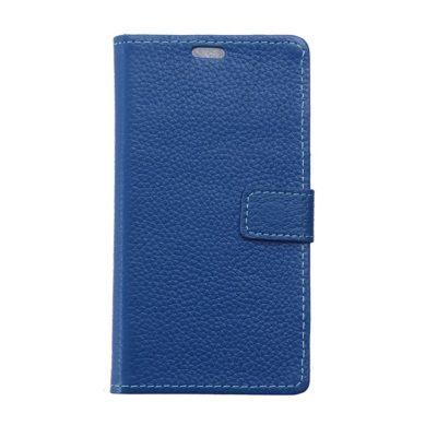 Nokia 5 Lompakkokotelo Nahka Sininen